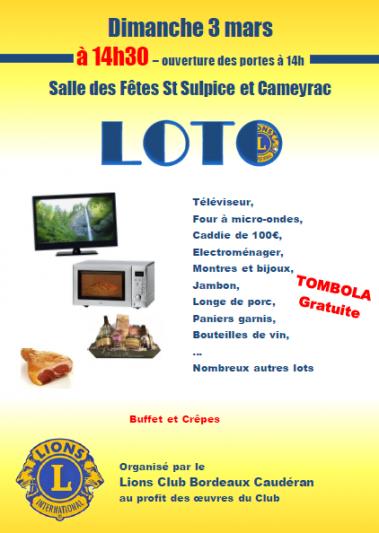 Action Loto St Sulpice Et Cameyrac