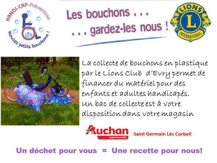 Action Collecte De Bouchons En Plastique
